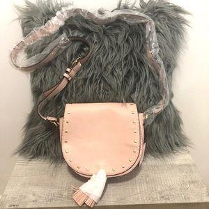 Brand new blush Victoria's Secret crossbody purse.